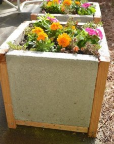 Relaxing Diy Concrete Garden Boxes Ideas To Make Your Home Yard Looks Awesome 14