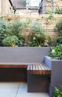 Relaxing Diy Concrete Garden Boxes Ideas To Make Your Home Yard Looks Awesome 24