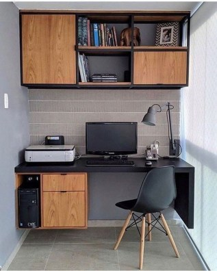 Unique Small Home Office Design Ideas To Try Asap 06