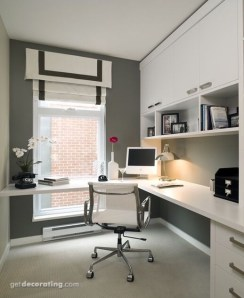 Unique Small Home Office Design Ideas To Try Asap 30