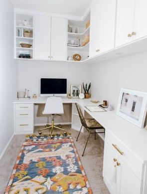 Unique Small Home Office Design Ideas To Try Asap 36