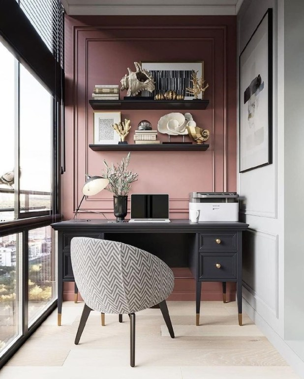 Unique Small Home Office Design Ideas To Try Asap 48