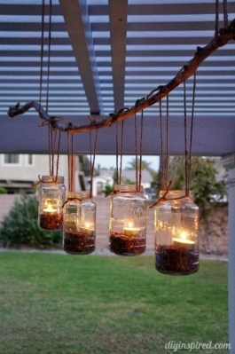 Adorable Diy Light Design Ideas For Stunning Home Outdoor 06