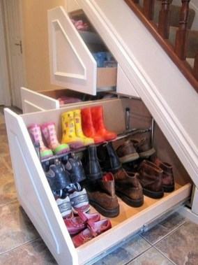 Awesome Storage Ideas For Under Stairs To Try Asap 15