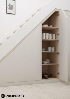Awesome Storage Ideas For Under Stairs To Try Asap 43