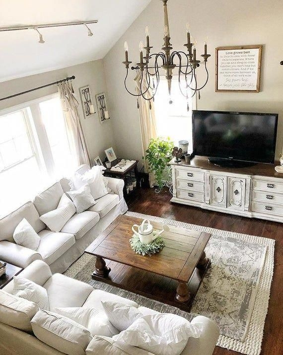 Beautiful French Country Living Room Decor Ideas To Copy Asap 38