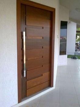 Best Wooden Door Design Ideas To Try Right Now 06