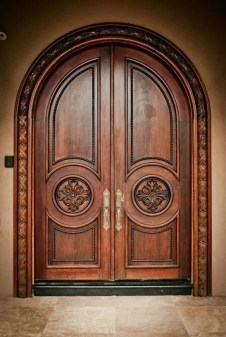Best Wooden Door Design Ideas To Try Right Now 22