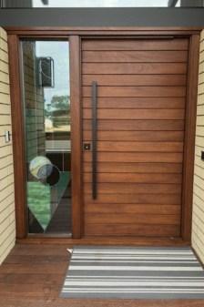Best Wooden Door Design Ideas To Try Right Now 23