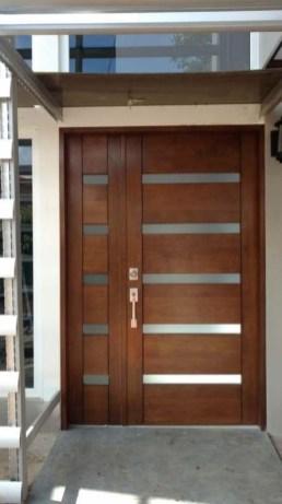 Best Wooden Door Design Ideas To Try Right Now 25