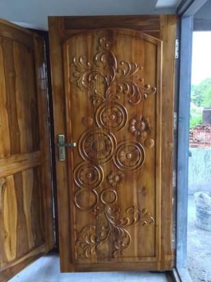 Best Wooden Door Design Ideas To Try Right Now 33