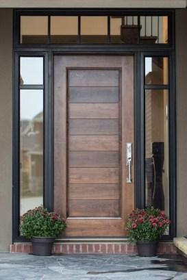 Best Wooden Door Design Ideas To Try Right Now 34