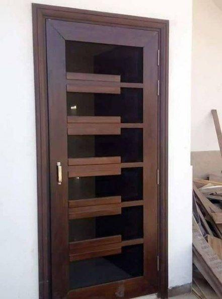 Best Wooden Door Design Ideas To Try Right Now 39