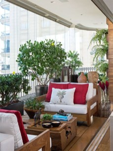 Comfy Apartment Balcony Decorating Ideas That Looks Awesome 32