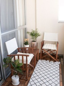 Comfy Apartment Balcony Decorating Ideas That Looks Awesome 50