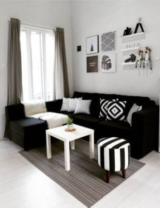 Cozy Apartment Living Room Decorating Ideas That You Need To Try 11