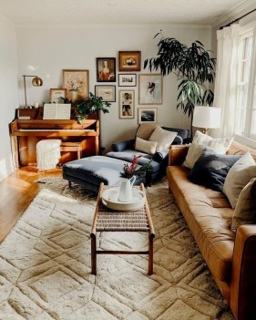 Cozy Apartment Living Room Decorating Ideas That You Need To Try 33