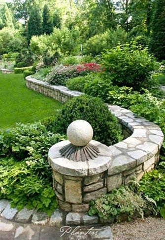 Delicate Garden Landscaping Design Ideas Using Rocks Stone To Try 38
