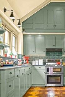 Elegant Farmhouse Kitchen Cabinet Makeover Design Ideas That Very Cozy 28
