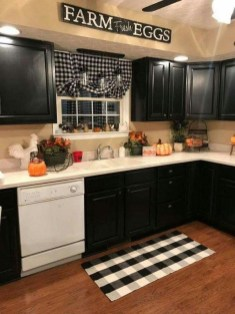 Elegant Farmhouse Kitchen Cabinet Makeover Design Ideas That Very Cozy 29