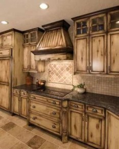 Elegant Farmhouse Kitchen Cabinet Makeover Design Ideas That Very Cozy 41