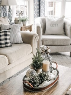 Excellent Living Room Decoration Ideas For Winter Season That Look More Cool 12