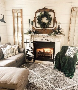 Excellent Living Room Decoration Ideas For Winter Season That Look More Cool 46