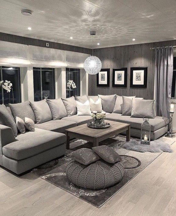 Excellent Living Room Decoration Ideas For Winter Season That Look More Cool 48