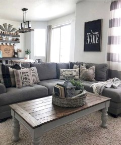 Gorgeous Farmhouse Living Room Makeover Decor Ideas To Try Asap 04