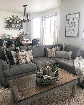 Gorgeous Farmhouse Living Room Makeover Decor Ideas To Try Asap 07