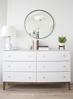 Impressive Bedroom Dressers Design Ideas With Mirrors That You Need To Try 45