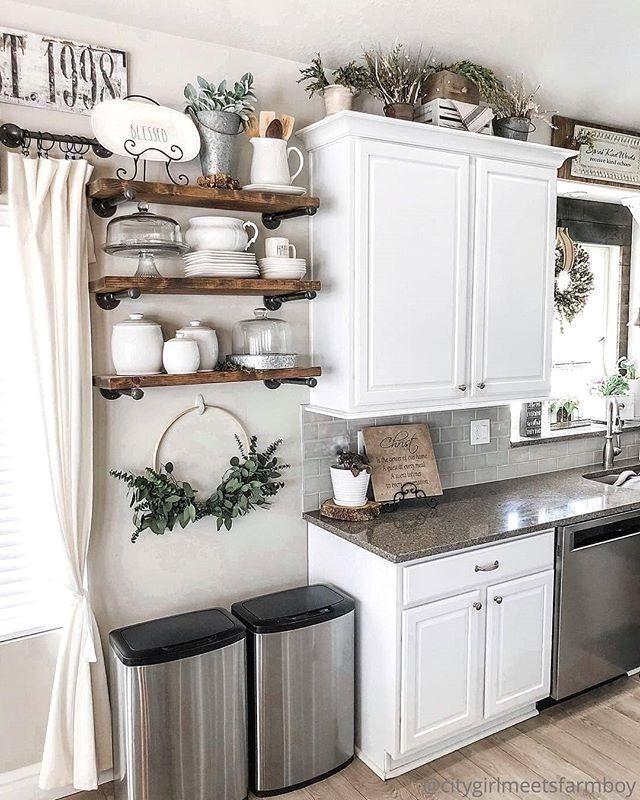 Popular Farmhouse Home Decor Ideas To Copy Asap 28