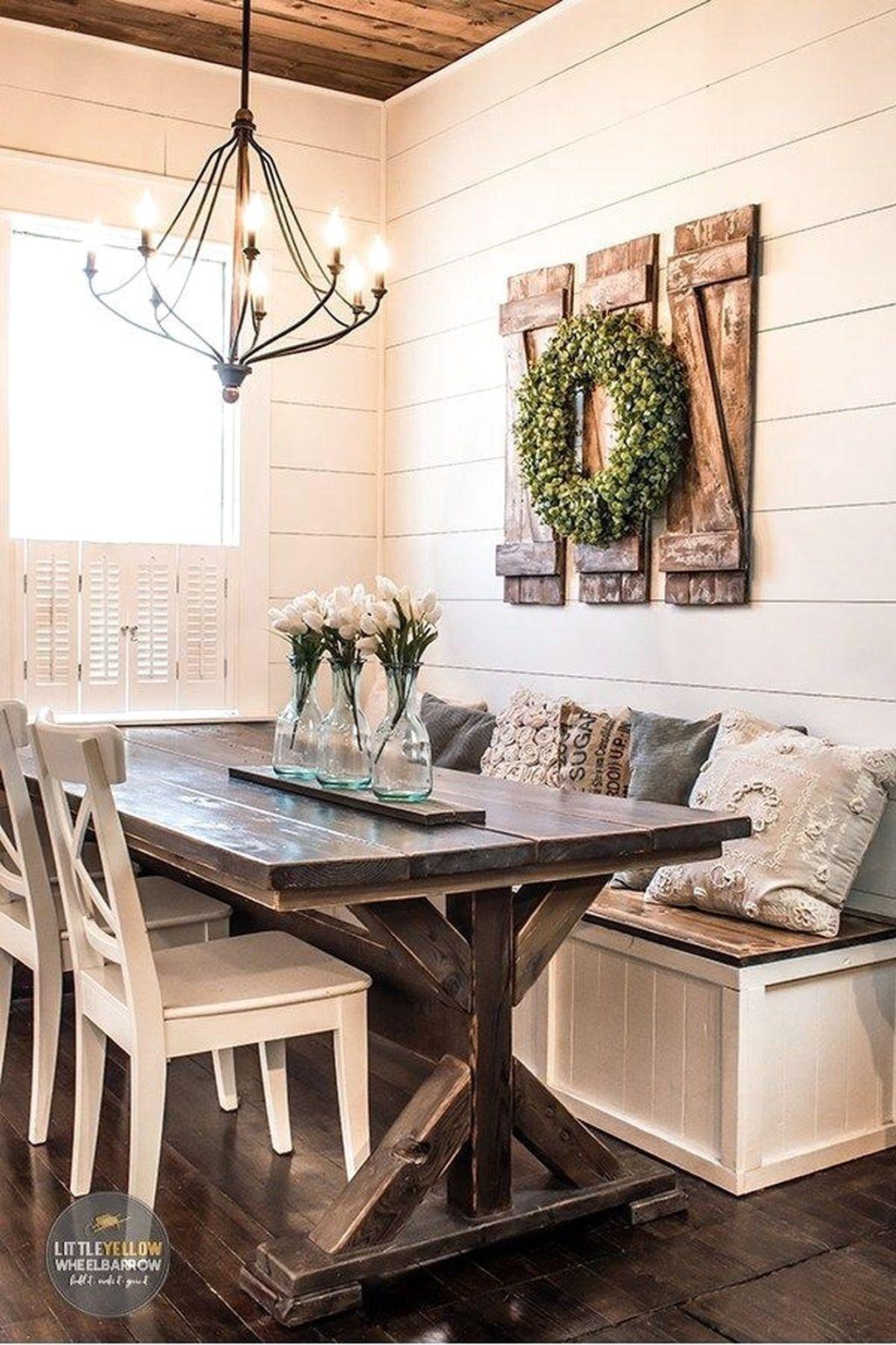 Popular Farmhouse Home Decor Ideas To Copy Asap 45