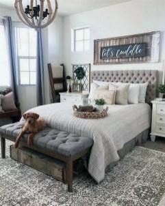 Pretty Farmhouse Master Bedroom Ideas To Try Asap 04