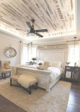 Pretty Farmhouse Master Bedroom Ideas To Try Asap 24