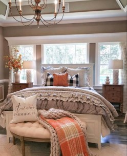 Pretty Farmhouse Master Bedroom Ideas To Try Asap 32