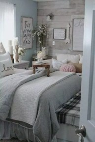 Pretty Farmhouse Master Bedroom Ideas To Try Asap 37