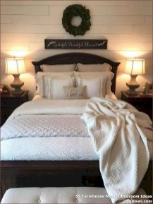 Pretty Farmhouse Master Bedroom Ideas To Try Asap 40