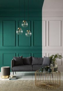 Sophisticated Home Decoration Ideas With Green Paint Combination 03