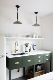 Sophisticated Home Decoration Ideas With Green Paint Combination 04