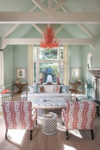 Sophisticated Home Decoration Ideas With Green Paint Combination 31