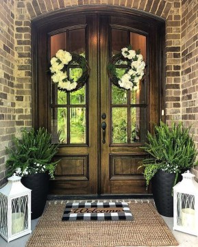 Sophisticated Home Door Designs Ideas That Are Suitable For Your Home 33