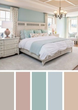 Spectacular Bedroom Paint Colors Design Ideas That Soothing To Make Your Sleep More Comfort 34