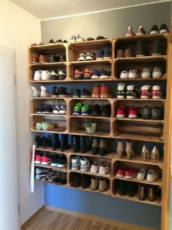 Spectacular Diy Shoe Storage Ideas For Best Home Organization To Try 18