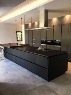 Stylish Black Kitchen Interior Design Ideas For Kitchen To Have Asap 01