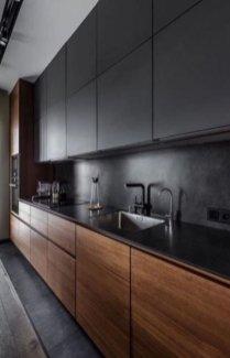 Stylish Black Kitchen Interior Design Ideas For Kitchen To Have Asap 12