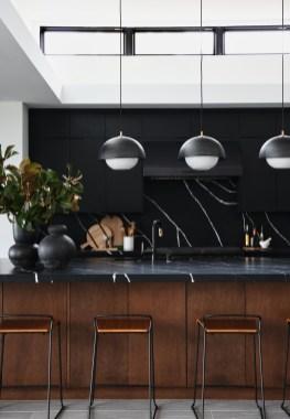 Stylish Black Kitchen Interior Design Ideas For Kitchen To Have Asap 17