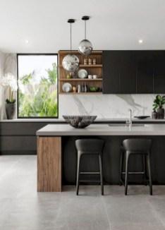 Stylish Black Kitchen Interior Design Ideas For Kitchen To Have Asap 21