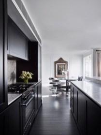 Stylish Black Kitchen Interior Design Ideas For Kitchen To Have Asap 31