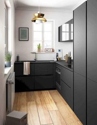 Stylish Black Kitchen Interior Design Ideas For Kitchen To Have Asap 36